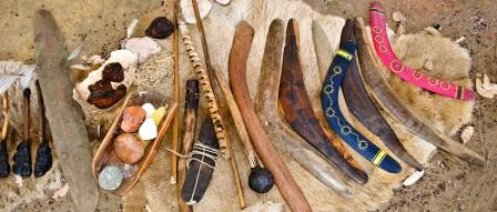 Examples of traditional tools (Image by Wendy Slee).
